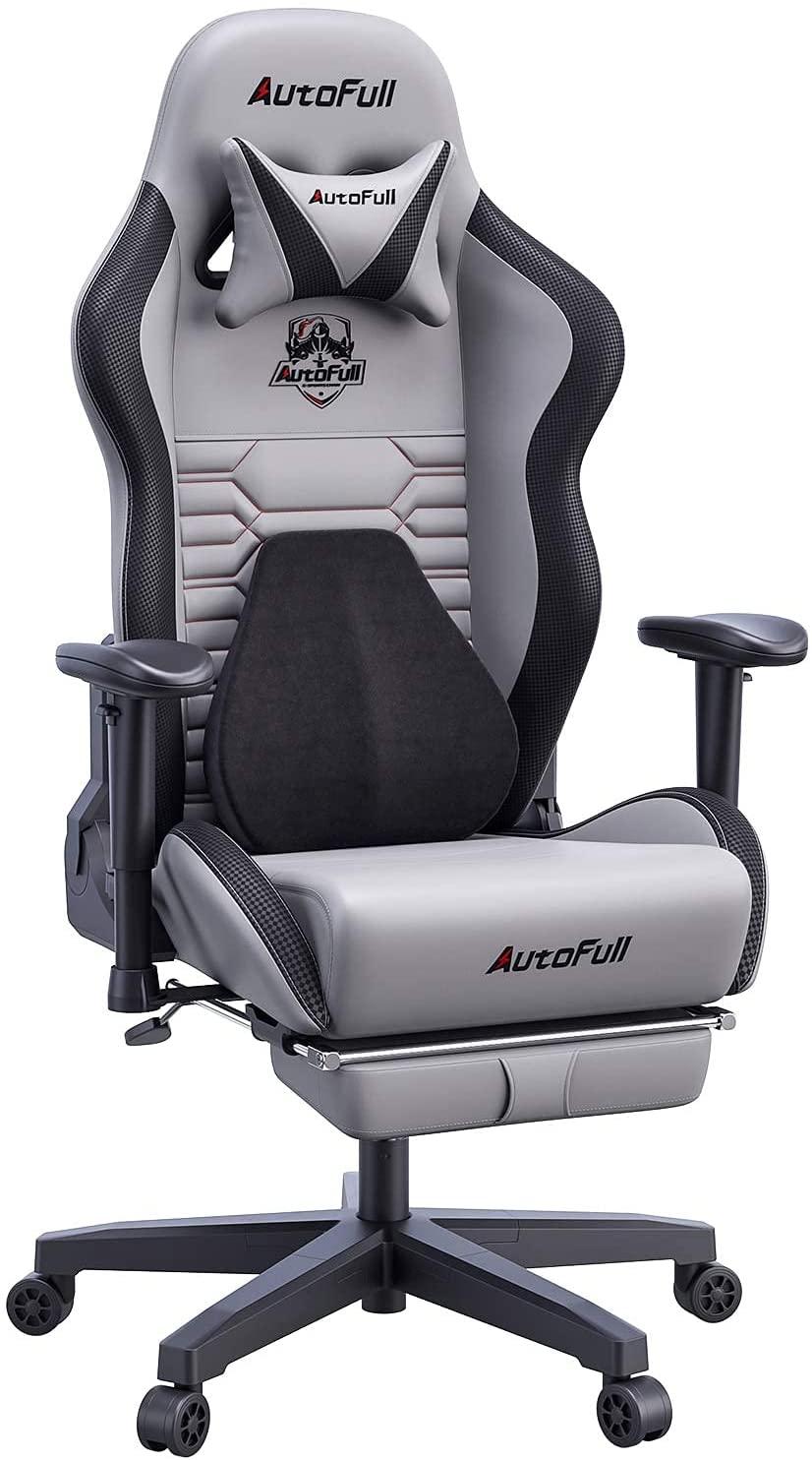 Autofull best gaming chair gray