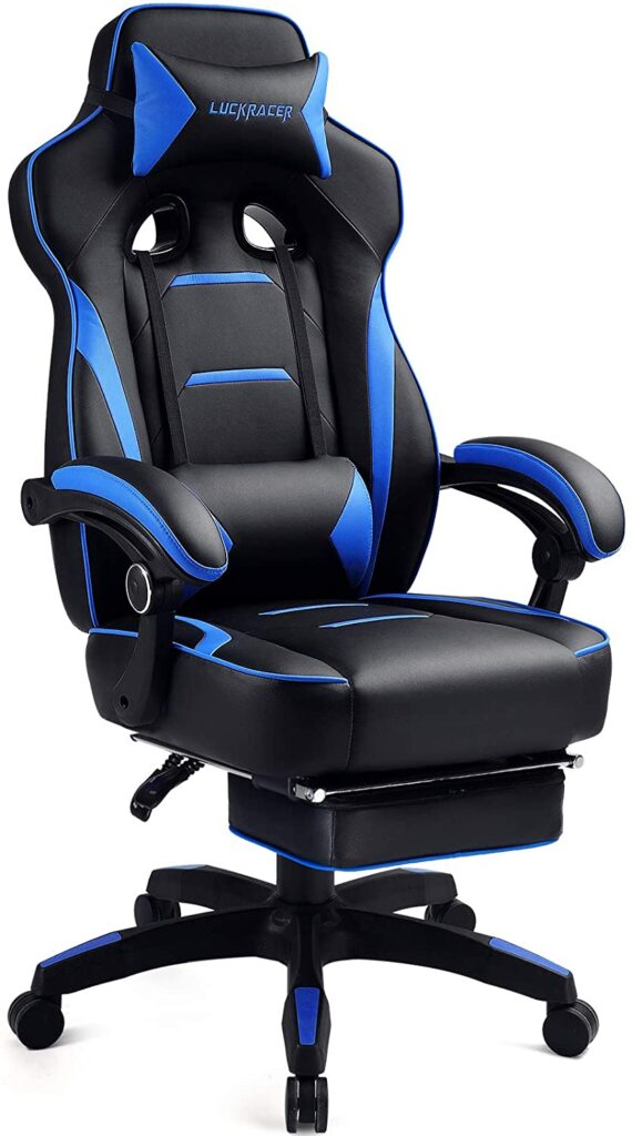 Luckracer Gaming Chair BLUE