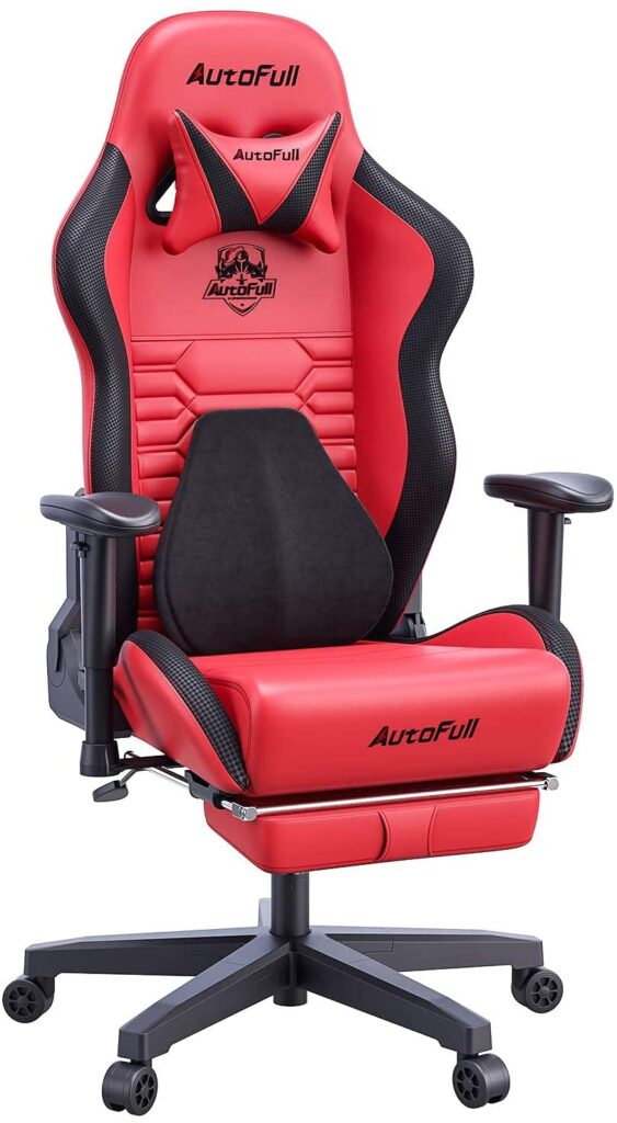 All Red Gaming Chair For Gamer Who Love Red 2021