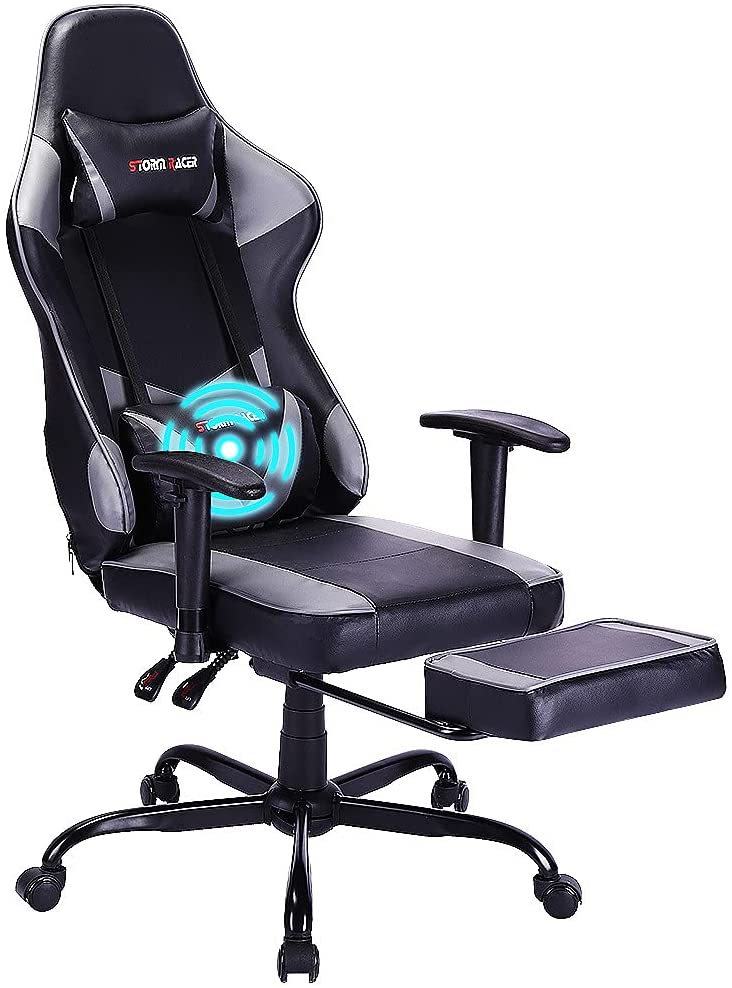 Best Pc Gaming Chair With Footrest in 2021 with gamingct