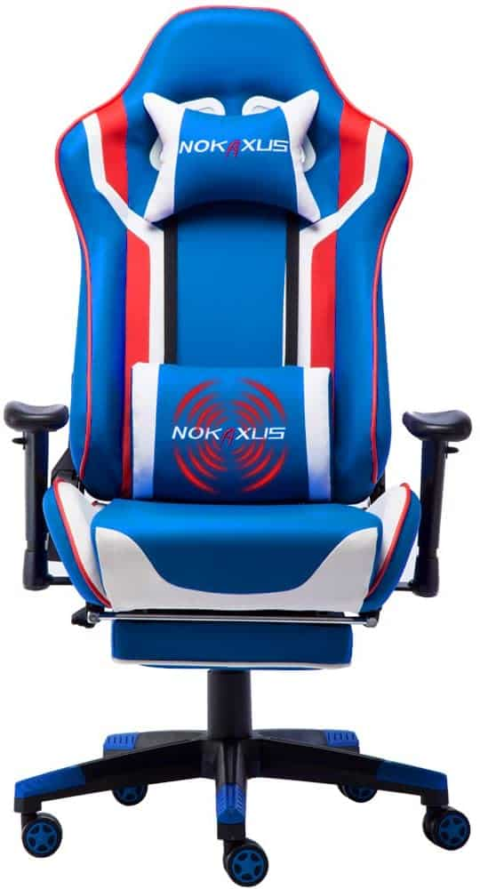 best gaming chair blue
