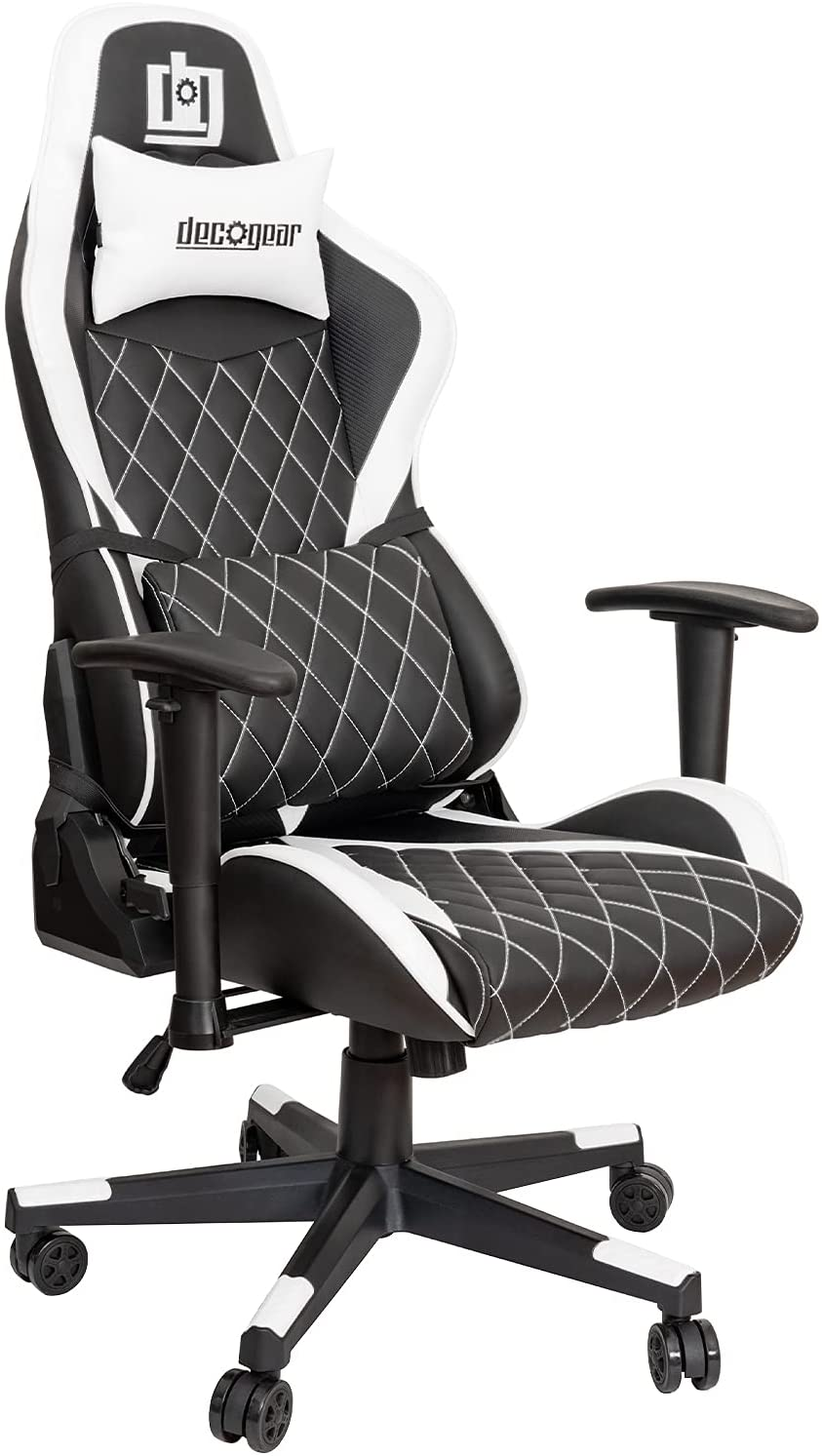 Deco Gear Diamond Quilted Ergonomic Gaming Chair